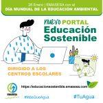 Emasesa lanza el portal Educación Sostenible y sus programas de educación ambiental online para salvar las limitaciones de movilidad y presencialidad por la Covid-19